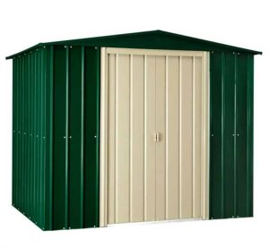 8 X 6 Lotus Heritage Green Shed Type And Roof Size