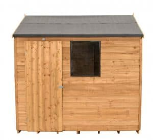 8 X 6 Reverse Apex Overlap Wooden Shed Type And Roof Size