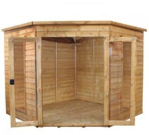 Avon 8' x 8' Chelsea Corner Summer House Customisation Options And Extras