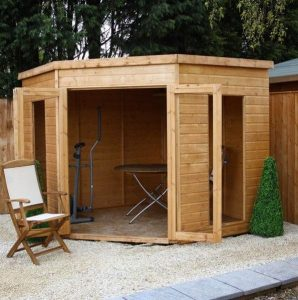 Avon 8' x 8' Chelsea Corner Summer House Type And Roof Size