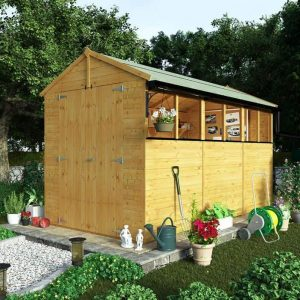 BillyOh 5000 12 x 6 Wooden Shed Type And Roof Size