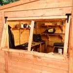 BillyOh Greenkeeper Pent 8 x 6 Shed Security And Privacy
