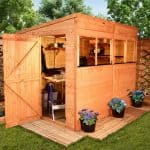 BillyOh Greenkeeper Pent 8 x 6 Shed Treatment Requirement And Warranty