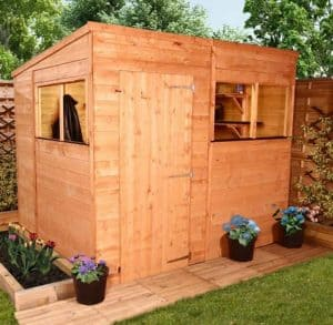 BillyOh Greenkeeper Pent 8 x 6 Shed Type And Roof Size