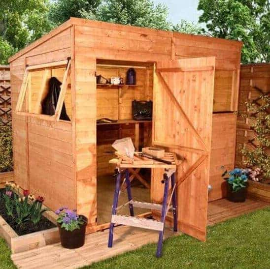 BillyOh Greenkeeper Pent 8 x 6 Shed
