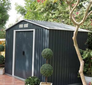 Emerald Anthracite Metal 8 x 6 Shed Treatment Requirement And Warranty