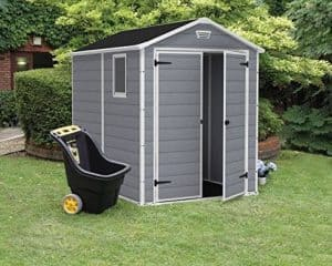 Keter Manor Plastic Shed 8 X 6 Cladding Frame And Floor