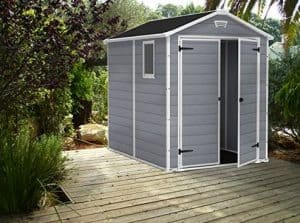 Keter Manor Plastic Shed 8 X 6 Treatment Requirement And Warranty