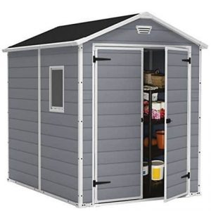 Keter Manor Plastic Shed 8 X 6 Type And Roof Size