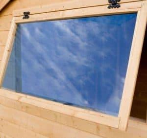 Mercia Shiplap Reverse Apex 8 x 6 Shed Doors And Windows