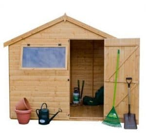 Mercia Shiplap Reverse Apex 8 x 6 Shed Type And Roof Size