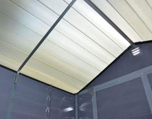 Palram Grey Skylight 8 x 6 Shed Treatment Requirement And Warranty