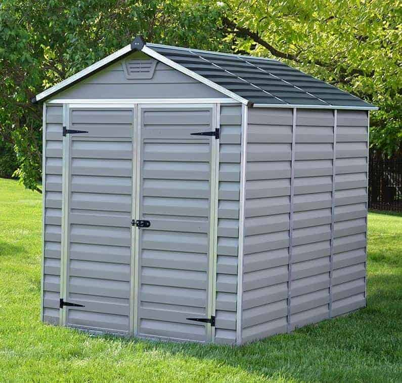 Palram Grey Skylight 8 x 6 Shed