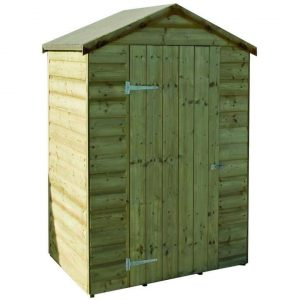 Rowlinson 4 x 3 Oxford Pressure Treated Shiplap Wooden Shed