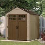 Suncast Adlington 3 Apex Roof 8 x 6 Shed