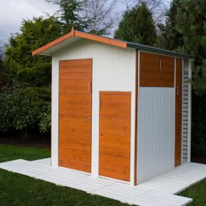6 x 6 Multi Store Apex Shiplap Wooden Shed