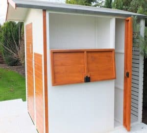 6 x 6 Multi Store Apex Shiplap Wooden Shed Cladding Frame And Floor
