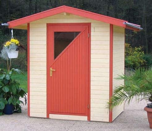 Apex Roof 19mm Designer Garden Shed