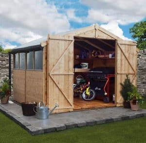 BillyOh 8x10 Shed 4000 Window Shed