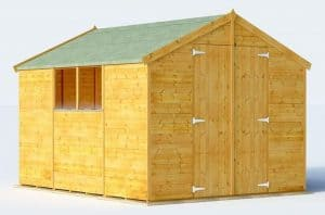 BillyOh Master Tongue and Groove Apex Shed Type And Roof Size