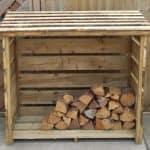 Forest Garden Log Store