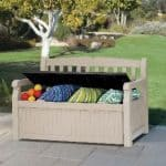 Keter Eden Garden Bench Box