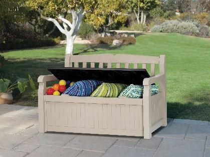 Keter Eden Garden Bench Box