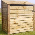 Rutland 4 Foot Single Midi Log Store With Door
