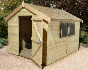 Shed Republic 8x10 Shed Ultimate Heavy Duty Workshop Cladding Frame And Floor