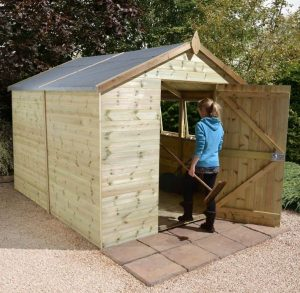 Shed Republic 8x10 Shed Ultimate Heavy Duty Workshop Type And Roof Size