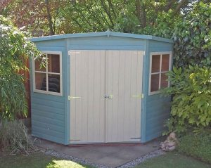 Wickes 8 x 8 Corner Shiplap Wooden Shed Type And Roof Size