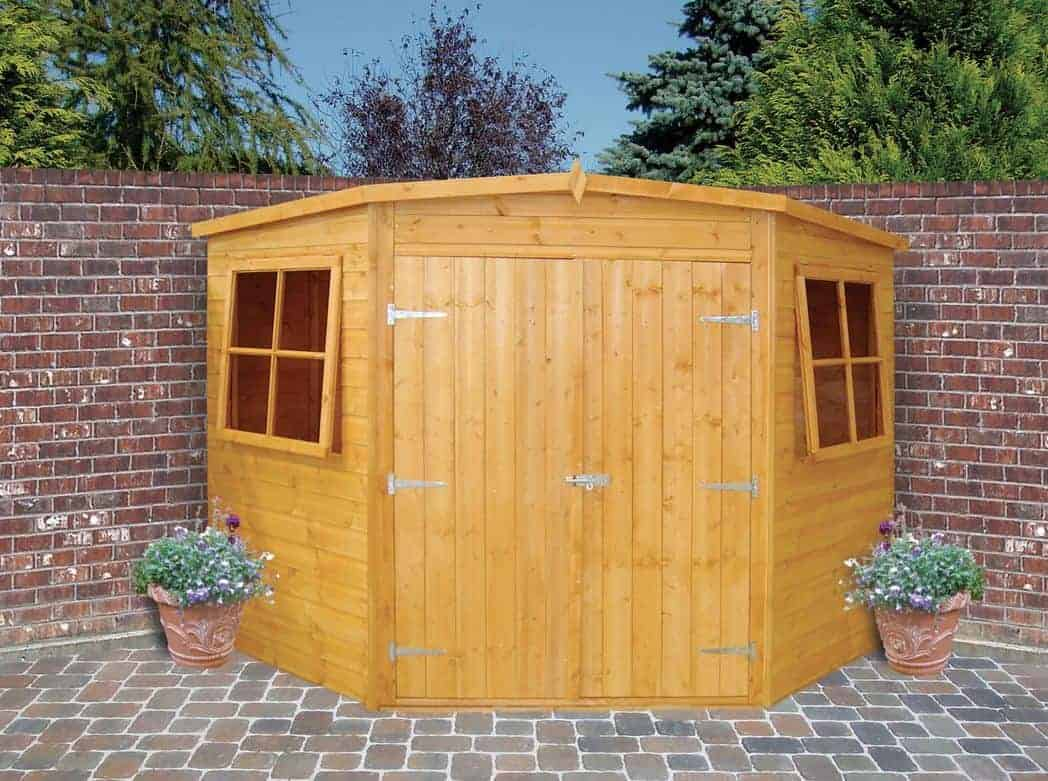 Wickes 8 X 8 Corner Shiplap Wooden Shed