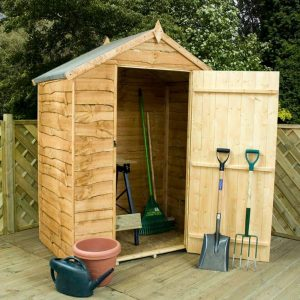 Winchester Windowless Waney Edge Apex Roof Shed