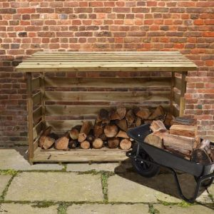Xtra Large Log Store Type And Roof Size