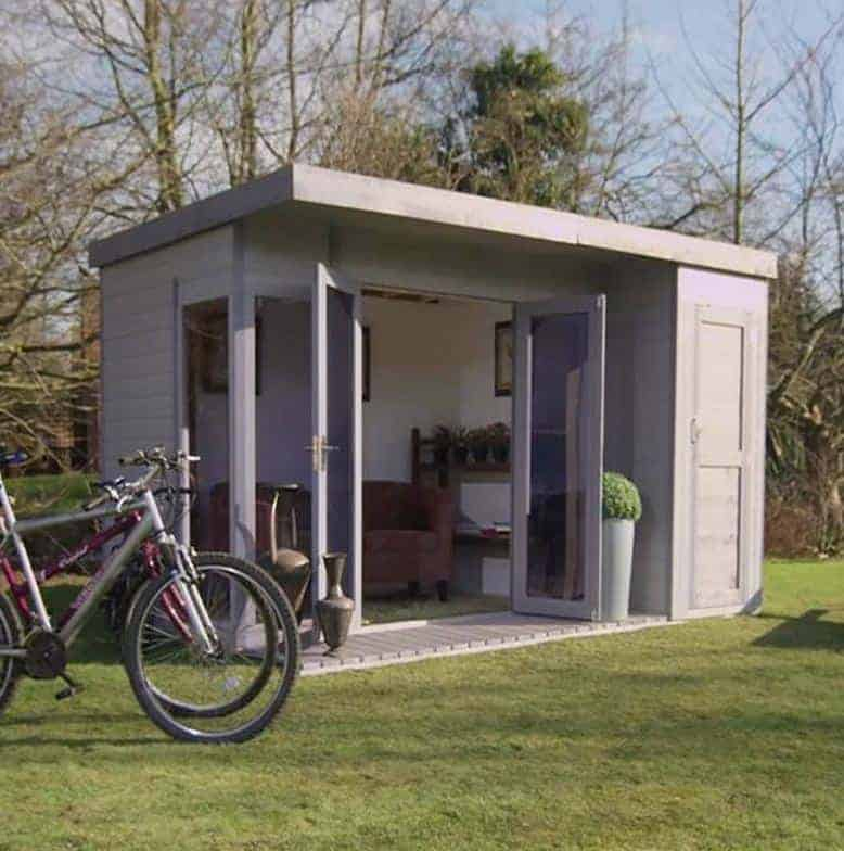 12 x 8 waltons contemporary summerhouse with side shed for 12x8 shed with side door