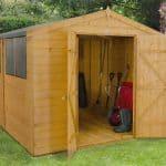 Forest 8x10 Shed Shiplap Workshop