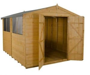 Forest 8x10 Shed Shiplap Workshop Shed Cladding Frame And Floor