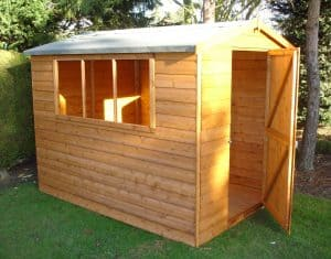 Lewis 8 X 6 Shed Type And Roof Size
