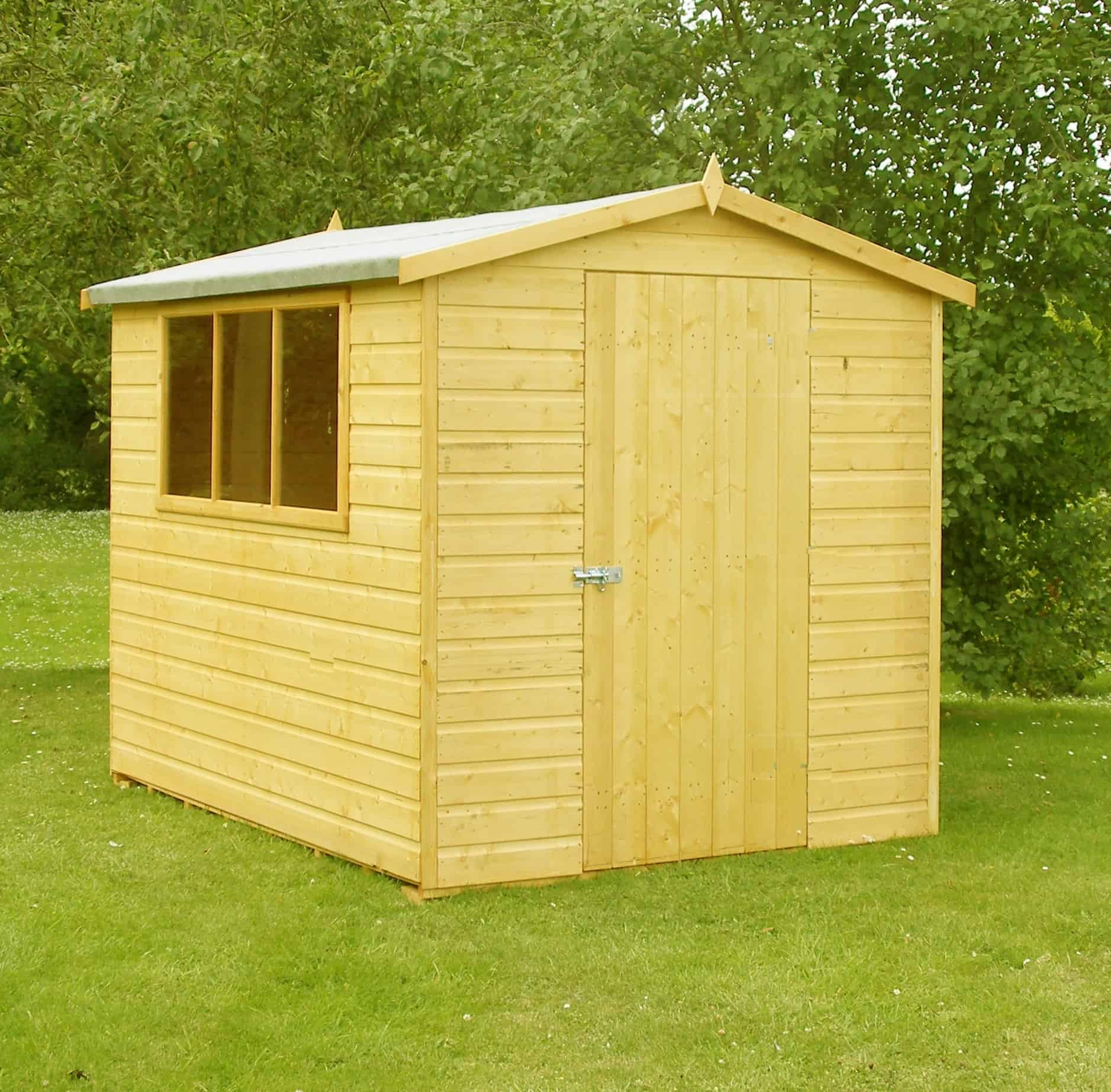Lewis 8 X 6 Shed