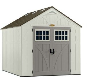 Suncast Tremont 3 Apex Plastic 8x10 Shed Type And Roof Size