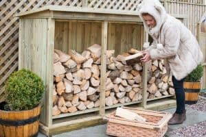Superior Treated Redwood Triple Log Store Security And Privacy