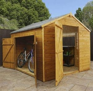 Waltons Tongue and Groove Wooden Multi-Store Garden Shed
