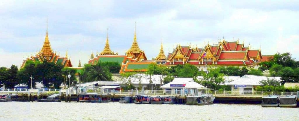 Bangkok Grand Palace from_River