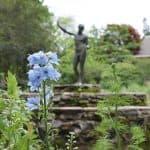 statue greek garden