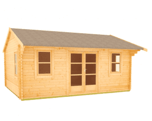The Delta 44mm Log Cabin by TigerSheds
