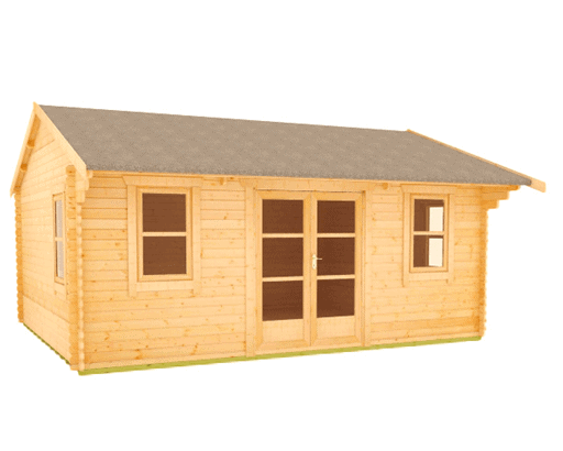 The Delta 44mm Log Cabin by TigerSheds