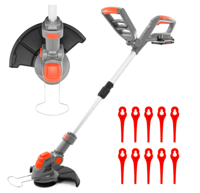 Terratek Cordless Strimmer 18V/20V-Max Lithium-Ion
