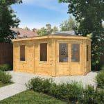 luxury 'shedroom'