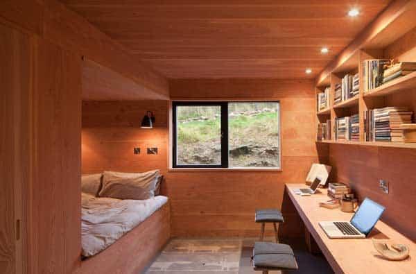 Shed House Inside